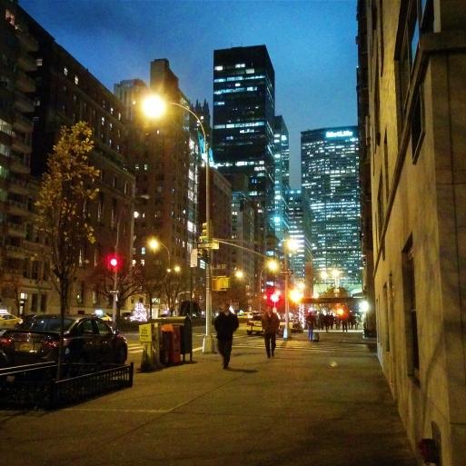 Walking up Park Avenue towards Grand Central - New York, NY