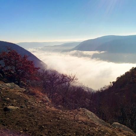 The top of Breakneck Ridge - Cold Springs, NY