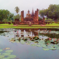 A trip to Sukhothai because everything else was flooded - Thailand 2014