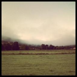 Fog Inverness, Scotland