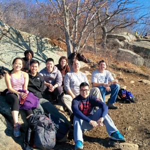 Breakneck Ridge Group Photo - after enjoying some lunch