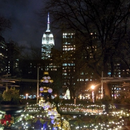 Madison Square view of the Empire State Building - New York, NY