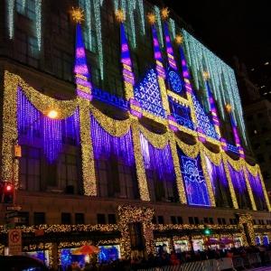 Saks Fifth Avenue Christmas Lights Display