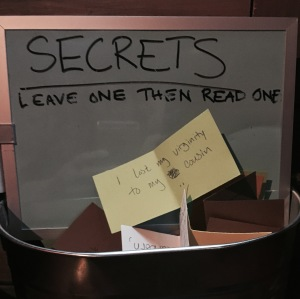 Leave a secret